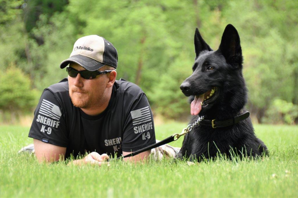 Deputy Ron Hensinger and K-9 Odin