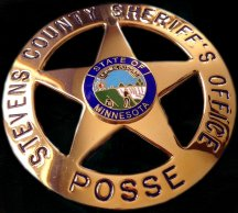Stevens County Sheriff's Posse badge